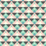 Geometryczny plemienny wzór Zdjęcie Royalty Free