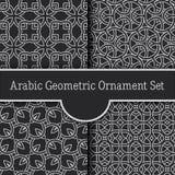 Geometryczny pobrudzony arabski bezszwowy wzór Obraz Royalty Free