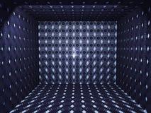 Geometryczny pokój Fotografia Royalty Free