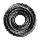 Geometryczny promieniowy element Abstrakcjonistyczny koncentryczny, promieniowy geometryczny, Obraz Stock