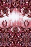 Geometryczny różowy tekstura projekt royalty ilustracja
