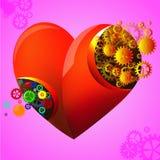Geometryczny serce 13 ilustracja wektor