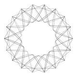 Geometryczny set dla prezentów i wakacje deseniujemy wektor EPS10 Obrazy Royalty Free