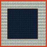 Geometryczny szalika wzór royalty ilustracja