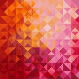 Geometryczny tło barwiony trójbok royalty ilustracja