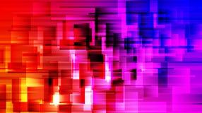 Geometryczny tło z jaskrawymi gradientu i plamy skutkami ilustracja wektor
