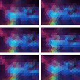 geometryczny tło Zdjęcie Royalty Free