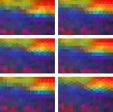 geometryczny tło Fotografia Royalty Free