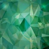 Geometryczny tło z wielobokami Zdjęcia Stock