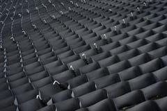 Geometryczny tekstury grille Zdjęcia Stock