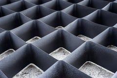 Geometryczny tekstury grille Fotografia Stock