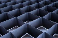 Geometryczny tekstury grille Fotografia Royalty Free