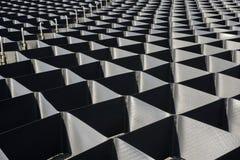 Geometryczny tekstury grille Obrazy Royalty Free