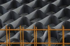Geometryczny tekstury grille Obraz Stock