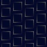 Geometryczny wektoru wzór w halftone stylu z błyszczącym skutkiem Fotografia Stock