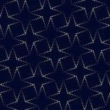 Geometryczny wektoru wzór w halftone stylu z błyszczącym skutkiem Zdjęcie Stock