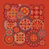 Geometryczny wzór Obrazy Royalty Free