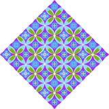 Geometryczny wzór Royalty Ilustracja