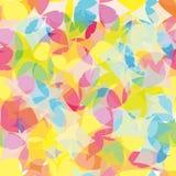 Geometryczny wzór, kolorowy abstrakcjonistyczny tło, nowożytna tekstura fotografia stock