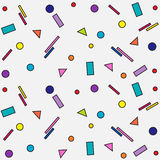 geometryczny wzór na białym tle Obraz Stock