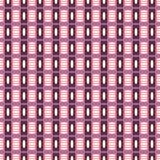 Geometryczny wzór w powtórce Tkanina druk Bezszwowy tło, mozaika ornament, etniczny styl Fotografia Royalty Free