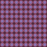 Geometryczny wzór w powtórce Tkanina druk Bezszwowy tło, mozaika ornament, etniczny styl Obrazy Royalty Free