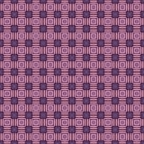 Geometryczny wzór w powtórce Tkanina druk Bezszwowy tło, mozaika ornament, etniczny styl Obrazy Stock