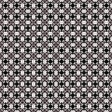 Geometryczny wzór w powtórce Tkanina druk Bezszwowy tło, mozaika ornament, etniczny styl Obraz Royalty Free