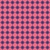 Geometryczny wzór w powtórce Tkanina druk Bezszwowy tło, mozaika ornament, etniczny styl Zdjęcia Stock