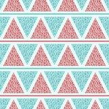 Geometryczny wzór z trójbokami Zdjęcie Stock