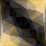 Geometryczny złoto i czarny wektorowy tło Zdjęcie Royalty Free