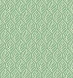 Geometrycznych liści wektorowy bezszwowy wzór Abstrakcjonistyczna wektorowa tekstura Liścia tło ilustracja wektor