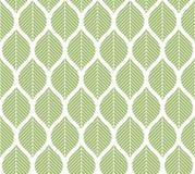Geometrycznych modnych liści wektorowy bezszwowy wzór Abstrakcjonistyczna symetria wektoru tekstura Liścia tło royalty ilustracja