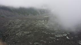 Geomorfologia del ghiacciaio nel Tibet fotografia stock