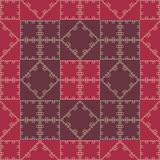 geomtry κόκκινη ταπετσαρία Διανυσματική απεικόνιση