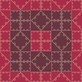 Geomtry rouge de papier peint Image libre de droits