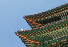 Geongbokgung pałac Seoul Korea Obraz Stock
