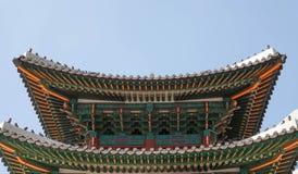 Geongbokgung pałac Seoul Korea Zdjęcie Royalty Free
