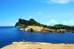 Geopark de Yehliu photo libre de droits
