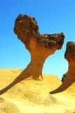 Geopark de Yehliu Image stock