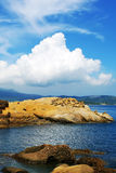Geopark de Yehliu Image libre de droits