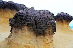 Geopark de Yehliu en Taiwán Imagen de archivo libre de regalías
