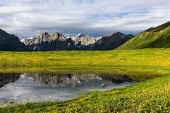Geopark del nacional de Nianbaoyuzhe Fotografía de archivo