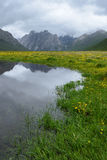 Geopark del nacional de Nianbaoyuzhe Fotos de archivo libres de regalías