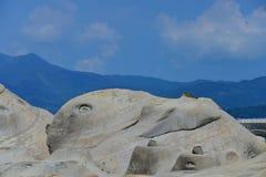Geopark Taipei Taiwán de Yehliu Fotos de archivo libres de regalías