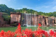 Geopark in Yixing Stock Afbeelding