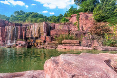 Geopark in Yixing Stock Foto's