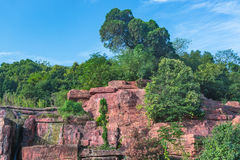 Geopark in Yixing Royalty-vrije Stock Afbeeldingen
