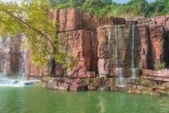 Geopark in Yixing Royalty-vrije Stock Foto's