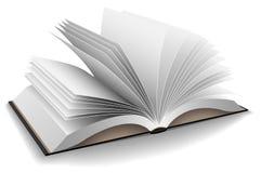 Geopend boek stock illustratie